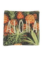 Angels by the Sea Aloha Pineapple Coaster