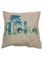 Angels by the Sea Aloha Beach Pillow Cover
