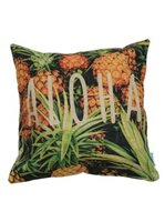 Angels by the Sea Aloha Pineapple Pillow Cover