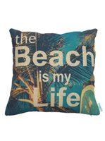 Angels by the Sea Beach is my Life Pillow Cover