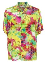 Jams World Green Flash Men's Hawaiian Shirt