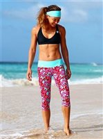 Mahiku Activewear Melia Yoga Capri Leggings