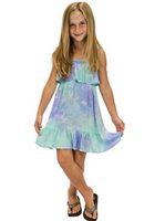 Angels by the Sea Moana Purple Girls Summer Dress