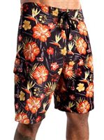 Hinano Tahiti Tropical Storm Black Boardshort