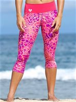 Mahiku Activewear Hanna Yoga Capri Leggings