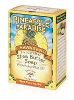 Island Soap & Candle Works Shea Butter Soap 3 oz. [Pineapple Paradise]