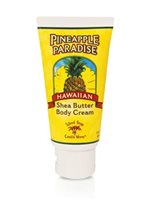Island Soap & Candle Works Shea Butter Body Cream 3 oz. [Pineapple Paradise]