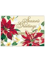 Island Heritage Festive Plumeria Supreme Christmas Card 12 cards & 13 envelopes