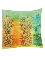 Pineapple Islands Pillow Cover