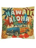 Volks Aloha Hawaii Pillow Cover