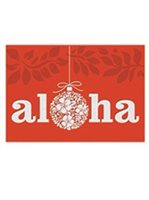Island Heritage Ornament of Aloha Supreme Christmas Card 12 cards & 13 envelopes