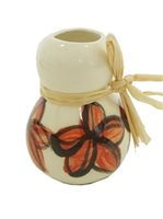 Ipu Plumeria Red Christmas Ornament