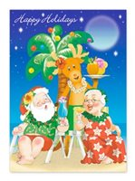 Island Heritage Holiday Hour 2 Boxed Christmas Card 12 cards & 13 envelopes