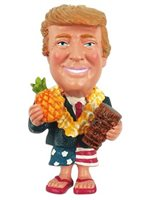Pineapple Tiki Trump Magnet