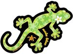Gecko Hawaiian Island Decals