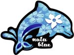 Blue Dolphin Hawaiian Island Decals