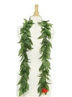 Green Classic Maile 60 inch Lei