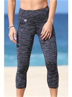 Mahiku Activewear Pineapple Tech Capri Leggings