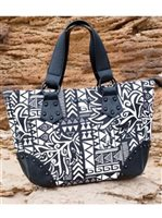 Hinano Tahiti Starling Black Women's Tote