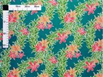 Lily Teal Poly Cotton LW-16-543