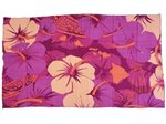 [Hawaii Exclusive] Hinano Tahiti Oliana Berry Screen Printed Pareo