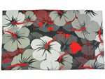 [Hawaii Exclusive] Hinano Tahiti Oliana Black Screen Printed Pareo