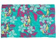 [Hawaii Exclusive] Hinano Tahiti Lala Teal Screen Printed Pareo