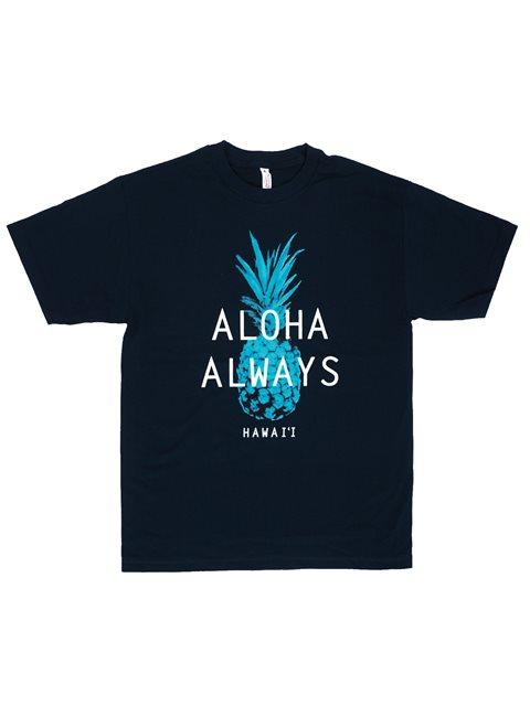 c83673d7d Aloha Always Navy Men's Hawaiian T-Shirt | AlohaOutlet