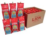 Lion Coffe Flavored Coffee 12 pack set [10oz]