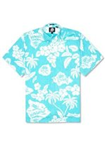 Reyn Spooner REYN'S SURF CAMP Surf Cotton Men's Hawaiian Shirt Classic Fit