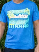 Hinano Tahiti Wind Royal Heather Men's T-Shirt