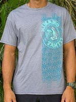 Hinano Tahiti Maddox Medium Grey Heather Men's T-Shirt