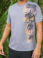 Hinano Tahiti Leopold Medium Grey Heather Men's T-Shirt