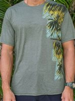 Hinano Tahiti Leopold Olive Heather Men's T-Shirt