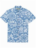 Kahala Duke's Pareo - Standard Fit Wave Cotton Men's Hawaiian Shirt