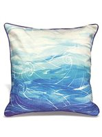 Lauren Roth Ocean Dream Pillow Embroidered