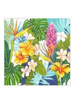 Lauren Roth Island Blossoms Canvas Art