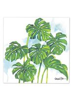 Lauren Roth  Monstera Grove Canvas Art
