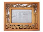 Palm Tree & Honu Wood Photo Frame