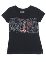 [Hawaii Exclusive] Hinano Tahiti Covert Black Women's T-Shirt