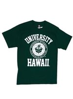 UH UH Classic Seal Forest Green Men's Hawaiian T-Shirt
