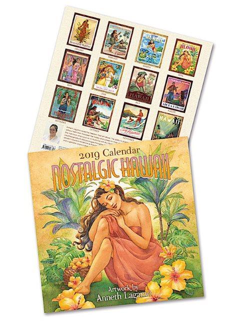Island Heritage Nostalgic Hawaii 2019 Deluxe Hawaiian Calendar