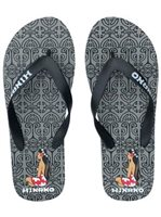 Hinano Tahiti Mafatu Black Men's Slippers