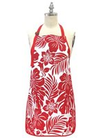 Island Heritage Hbiscus Floral Apron