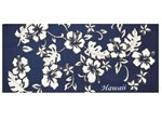Hilo Hattie Classic Hibiscus Pareo  Blue Beach Towel