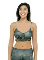 [Hawaii Exclusive] Hinano Tahiti Defense Black Active wear sports bra [60% OFF]