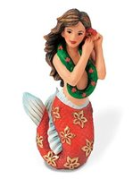 Island Heritage Hawaiian Mermaid Hand Painted Ornament
