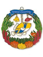 Island Heritage Humu's Greetings Collectible Ornament