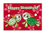 Island Heritage Mele Honu Box Christmas Cards Deluxe 12 cards & 13 envelopes