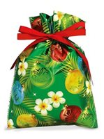 Island Heritage Ornaments of The Islands Foil Drawstring Gift Bag